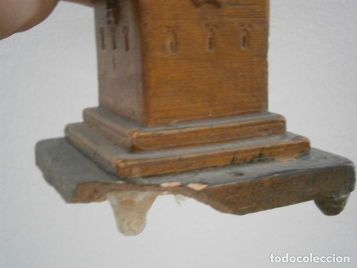 Antigüedades: PRECIOSA TORRE DE BARRO, PARA RESTAURAR. AÑOS 60/70 APROX. - Foto 11 - 254130485