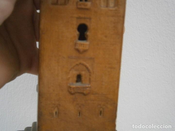 Antigüedades: PRECIOSA TORRE DE BARRO, PARA RESTAURAR. AÑOS 60/70 APROX. - Foto 12 - 254130485