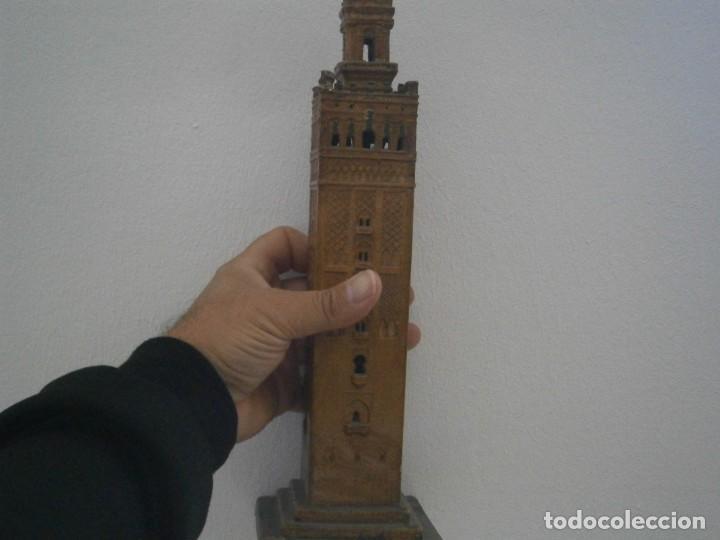 Antigüedades: PRECIOSA TORRE DE BARRO, PARA RESTAURAR. AÑOS 60/70 APROX. - Foto 13 - 254130485