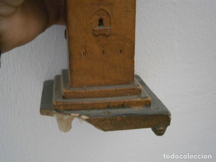 Antigüedades: PRECIOSA TORRE DE BARRO, PARA RESTAURAR. AÑOS 60/70 APROX. - Foto 14 - 254130485