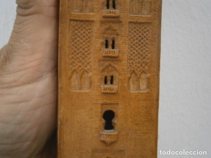 Antigüedades: PRECIOSA TORRE DE BARRO, PARA RESTAURAR. AÑOS 60/70 APROX. - Foto 16 - 254130485