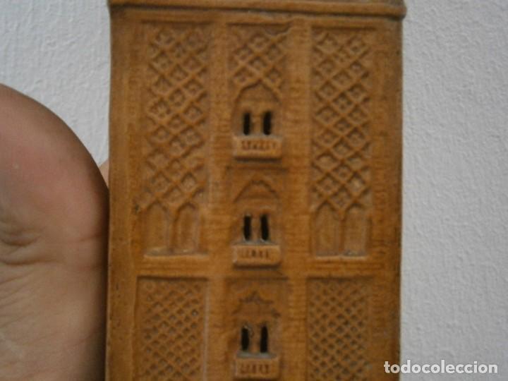 Antigüedades: PRECIOSA TORRE DE BARRO, PARA RESTAURAR. AÑOS 60/70 APROX. - Foto 17 - 254130485