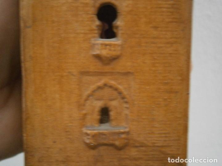 Antigüedades: PRECIOSA TORRE DE BARRO, PARA RESTAURAR. AÑOS 60/70 APROX. - Foto 18 - 254130485