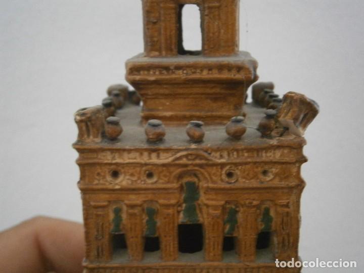 Antigüedades: PRECIOSA TORRE DE BARRO, PARA RESTAURAR. AÑOS 60/70 APROX. - Foto 19 - 254130485
