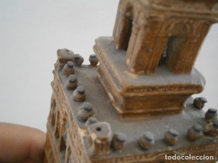 Antigüedades: PRECIOSA TORRE DE BARRO, PARA RESTAURAR. AÑOS 60/70 APROX. - Foto 20 - 254130485