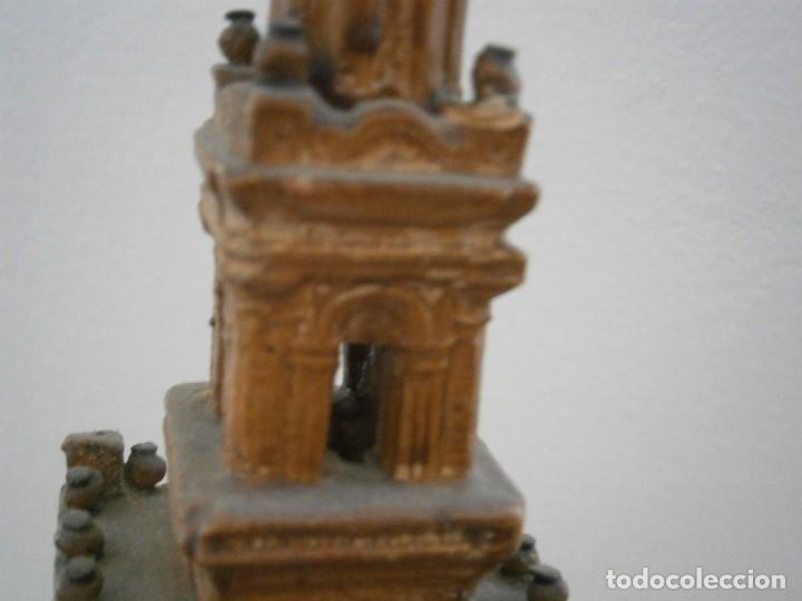 Antigüedades: PRECIOSA TORRE DE BARRO, PARA RESTAURAR. AÑOS 60/70 APROX. - Foto 21 - 254130485