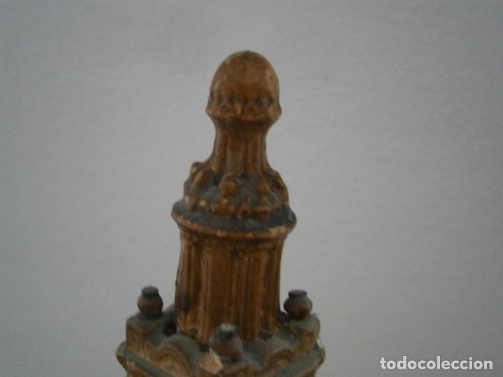 Antigüedades: PRECIOSA TORRE DE BARRO, PARA RESTAURAR. AÑOS 60/70 APROX. - Foto 23 - 254130485