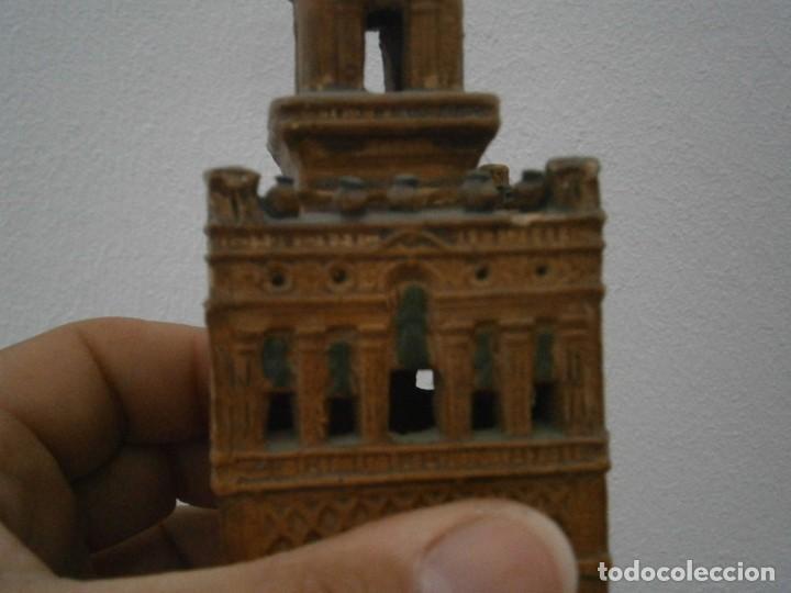 Antigüedades: PRECIOSA TORRE DE BARRO, PARA RESTAURAR. AÑOS 60/70 APROX. - Foto 25 - 254130485
