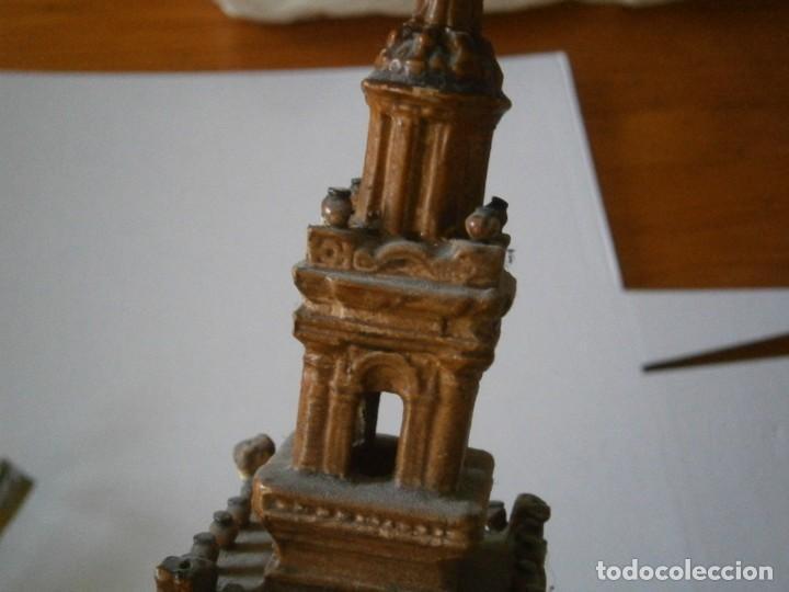 Antigüedades: PRECIOSA TORRE DE BARRO, PARA RESTAURAR. AÑOS 60/70 APROX. - Foto 29 - 254130485