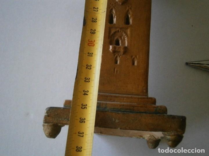 Antigüedades: PRECIOSA TORRE DE BARRO, PARA RESTAURAR. AÑOS 60/70 APROX. - Foto 30 - 254130485