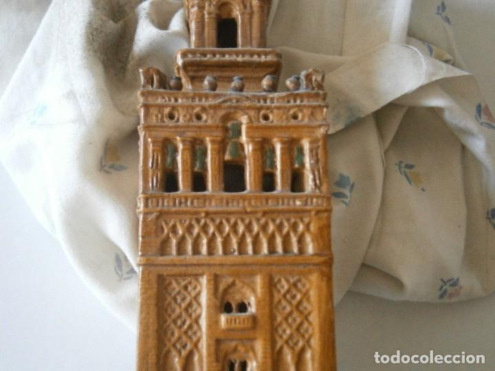 Antigüedades: PRECIOSA TORRE DE BARRO, PARA RESTAURAR. AÑOS 60/70 APROX. - Foto 32 - 254130485