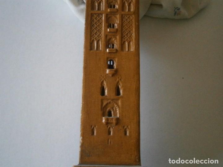 Antigüedades: PRECIOSA TORRE DE BARRO, PARA RESTAURAR. AÑOS 60/70 APROX. - Foto 33 - 254130485