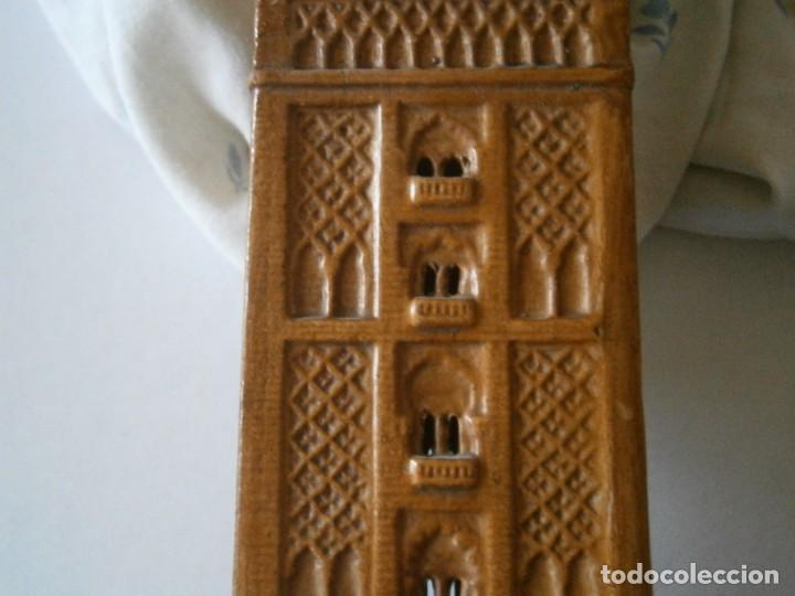 Antigüedades: PRECIOSA TORRE DE BARRO, PARA RESTAURAR. AÑOS 60/70 APROX. - Foto 34 - 254130485