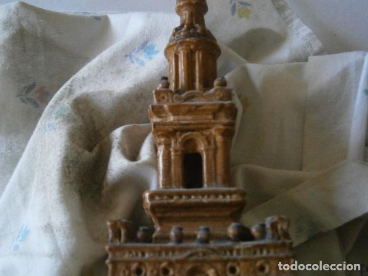 Antigüedades: PRECIOSA TORRE DE BARRO, PARA RESTAURAR. AÑOS 60/70 APROX. - Foto 35 - 254130485
