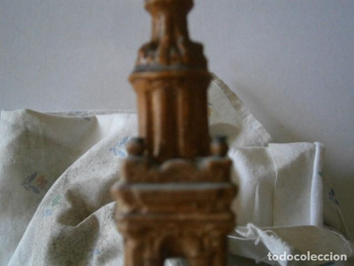 Antigüedades: PRECIOSA TORRE DE BARRO, PARA RESTAURAR. AÑOS 60/70 APROX. - Foto 37 - 254130485
