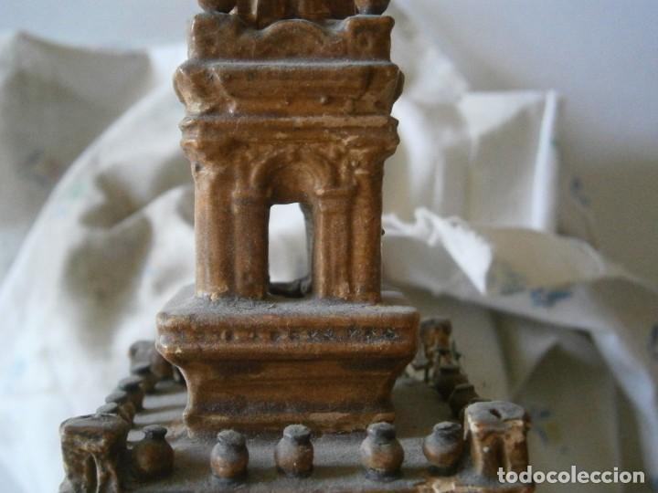 Antigüedades: PRECIOSA TORRE DE BARRO, PARA RESTAURAR. AÑOS 60/70 APROX. - Foto 38 - 254130485