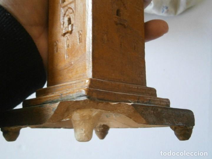 Antigüedades: PRECIOSA TORRE DE BARRO, PARA RESTAURAR. AÑOS 60/70 APROX. - Foto 40 - 254130485