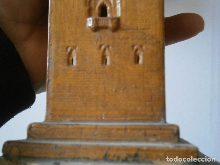 Antigüedades: PRECIOSA TORRE DE BARRO, PARA RESTAURAR. AÑOS 60/70 APROX. - Foto 41 - 254130485