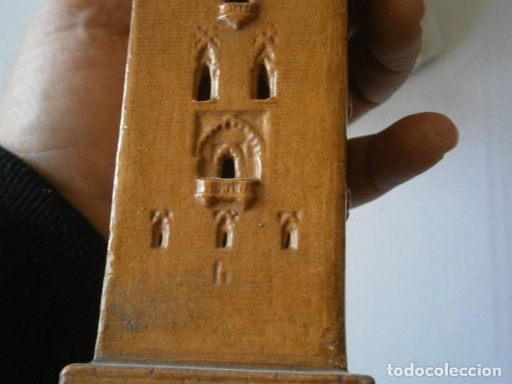 Antigüedades: PRECIOSA TORRE DE BARRO, PARA RESTAURAR. AÑOS 60/70 APROX. - Foto 42 - 254130485