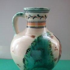 Antigüedades: JARRA EN CERÁMICA ESMALTADA. TALAVERA. DÍAZ. Lote 254133020