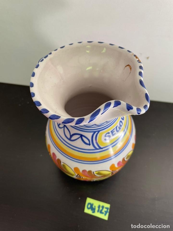 Antigüedades: Jarrón porcelana de Talavera - Foto 2 - 254166435