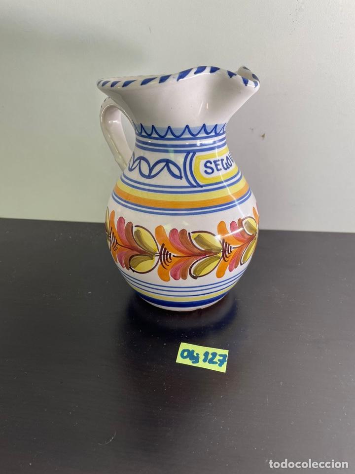 JARRÓN PORCELANA DE TALAVERA (Antigüedades - Porcelanas y Cerámicas - Talavera)