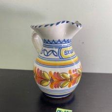 Antigüedades: JARRÓN PORCELANA DE TALAVERA. Lote 254166435