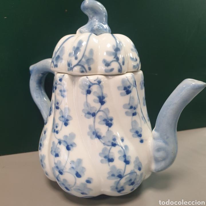 TETERA CHINA DE PORCELANA (Antigüedades - Porcelanas y Cerámicas - China)
