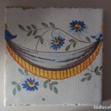 Antigüedades: AZULEJO. FÁBRICA DE VALENCIA. PP. SIGLO XIXI. BUENA CONSERVACIÓN. ORIGINAL¡¡¡¡. Lote 254252510