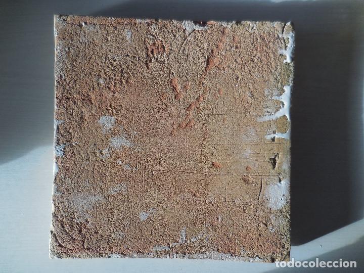 Antigüedades: AZULEJO. FÁBRICA DE VALENCIA. PP. SIGLO XIXI. BUENA CONSERVACIÓN. ORIGINAL¡¡¡¡ - Foto 2 - 254252510