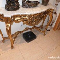 Antigüedades: CONSOLA LUIS XV DATA ENTRE 1830-1860. Lote 254281700