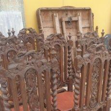 Antigüedades: SILLAS DE CARLOS X. Lote 254342745