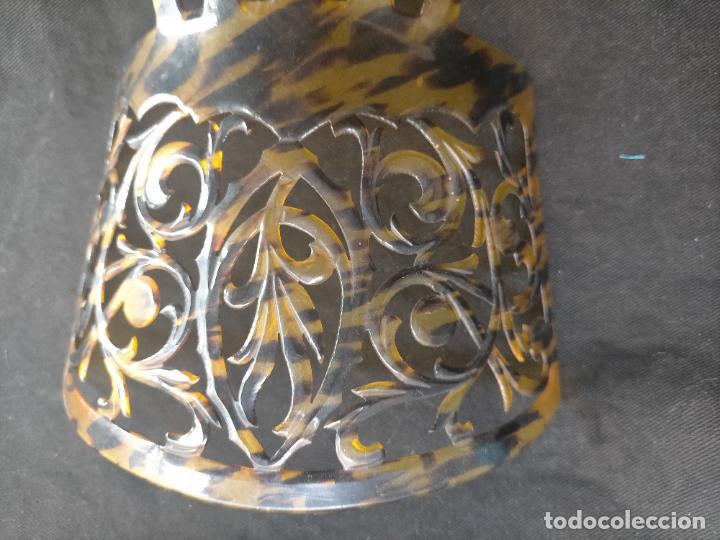 Antigüedades: ANTIGUA Y PRECIOSA PEINETA PARA MANTILLA ESPAÑOLA 18,8 X 16 CM - Foto 31 - 254385810