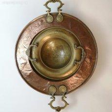 Antigüedades: JUEGO DE DOS BRASEROS. Lote 254403005