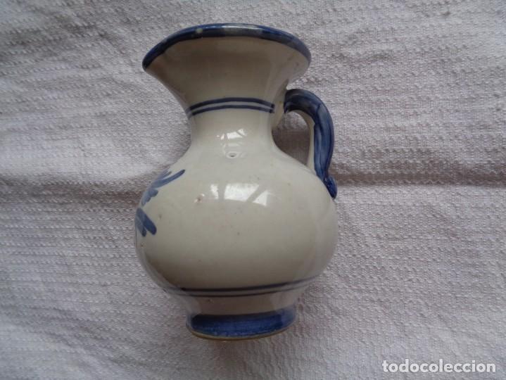 Antigüedades: VIEJA JARRA DE CERÁMICA DE PUENTE DEL ARZOBISPO. 12 Cm. - Foto 2 - 254405500