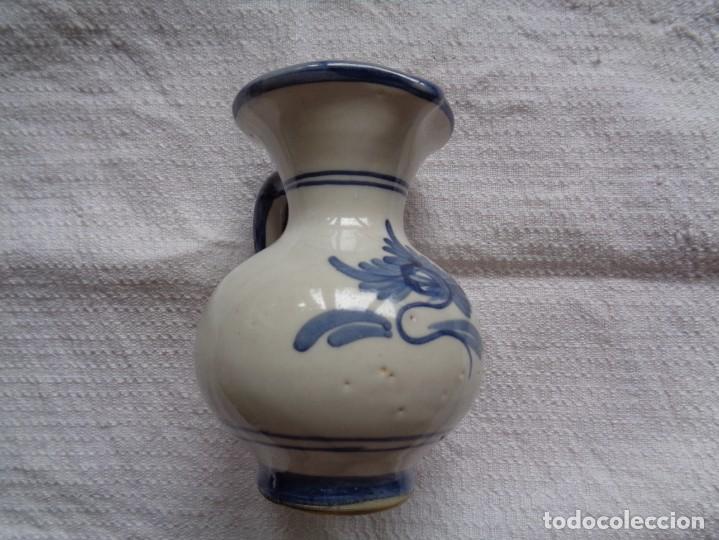 Antigüedades: VIEJA JARRA DE CERÁMICA DE PUENTE DEL ARZOBISPO. 12 Cm. - Foto 5 - 254405500