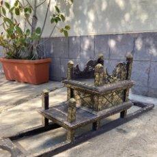 Antigüedades: PRECIOSO Y ANTIGUO PASO PROCESIONAL IGLESIA!. Lote 254412195