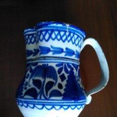 Antigüedades: JARRA DE MANISES DEL SIGLO XIX. Lote 254435405