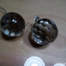 Antigüedades: BOLAS DE CRISTAL PARA LAMPARAS. (RF:LL-35/A). Lote 254486365
