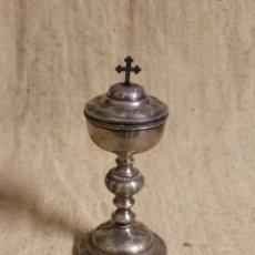 Antigüedades: COPÓN DE PLATA EN SU COLOR.INTERIOR DORADO.PUNZONES DE FRANCIA.S XIX.. Lote 254531255