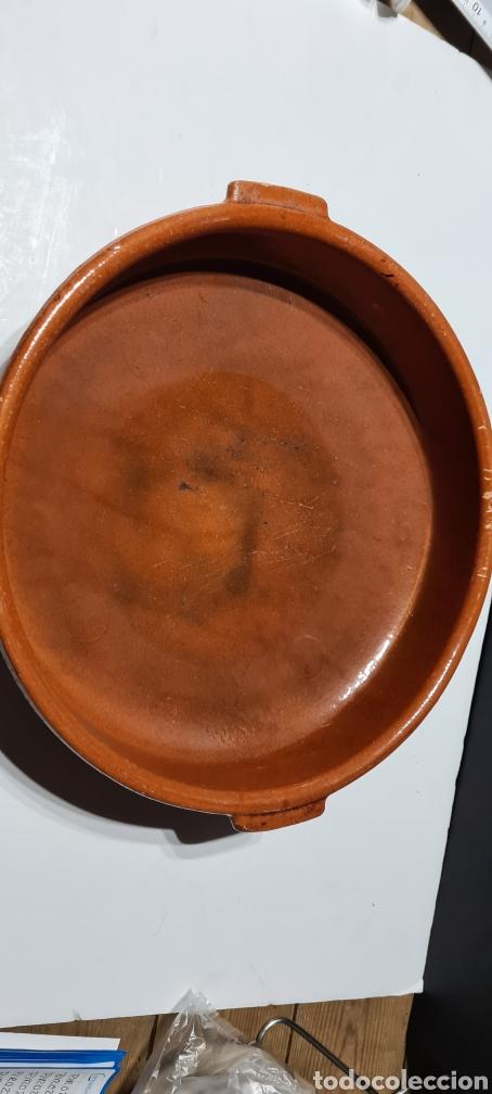 Antigüedades: Encantadora cazuela grande antigua de barro - Foto 3 - 254538950