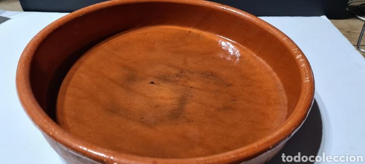Antigüedades: Encantadora cazuela grande antigua de barro - Foto 6 - 254538950
