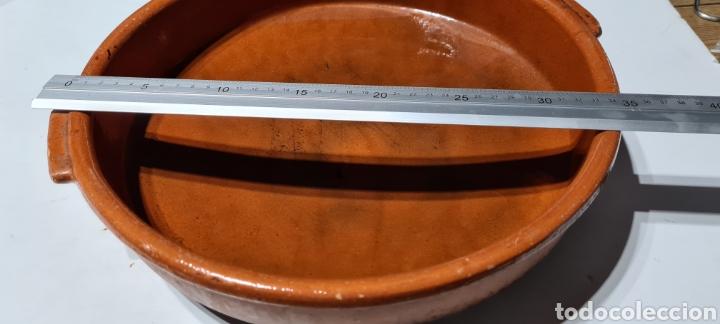Antigüedades: Encantadora cazuela grande antigua de barro - Foto 8 - 254538950