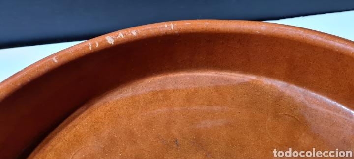 Antigüedades: Encantadora cazuela grande antigua de barro - Foto 10 - 254538950