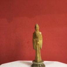 Antigüedades: ESCULTURA DE PIEDRA CHINA ANTIGUA. VER FOTOS. Lote 254548970