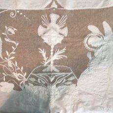 Antigüedades: ANTIGUO MANTEL DE ALTAR. Lote 254583990