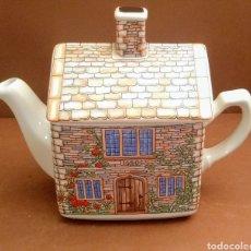 Antigüedades: TETERA SADLER COLECCIÓN ENGLISH COUNTRY HOUSE. JAMES 1. STAFFORDSHIRE. Lote 254585065
