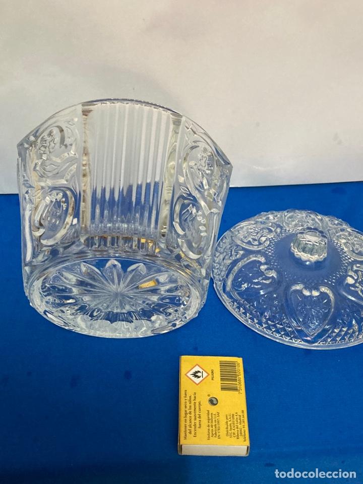 Antigüedades: Azucarero de cristal Italiano. años 70. - Foto 2 - 254632075
