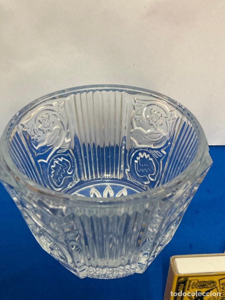 Antigüedades: Azucarero de cristal Italiano. años 70. - Foto 3 - 254632075