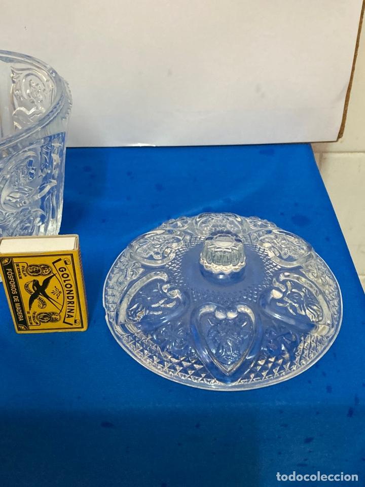 Antigüedades: Azucarero de cristal Italiano. años 70. - Foto 4 - 254632075